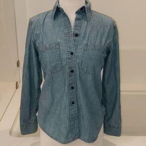Ralph Lauren denim button down shirt small